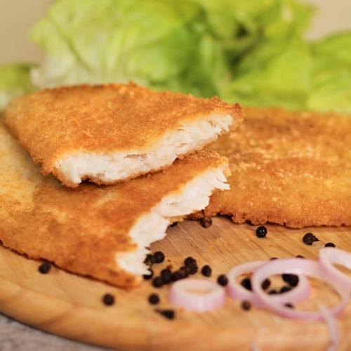 Breaded and Pre-fried breaded Fillet